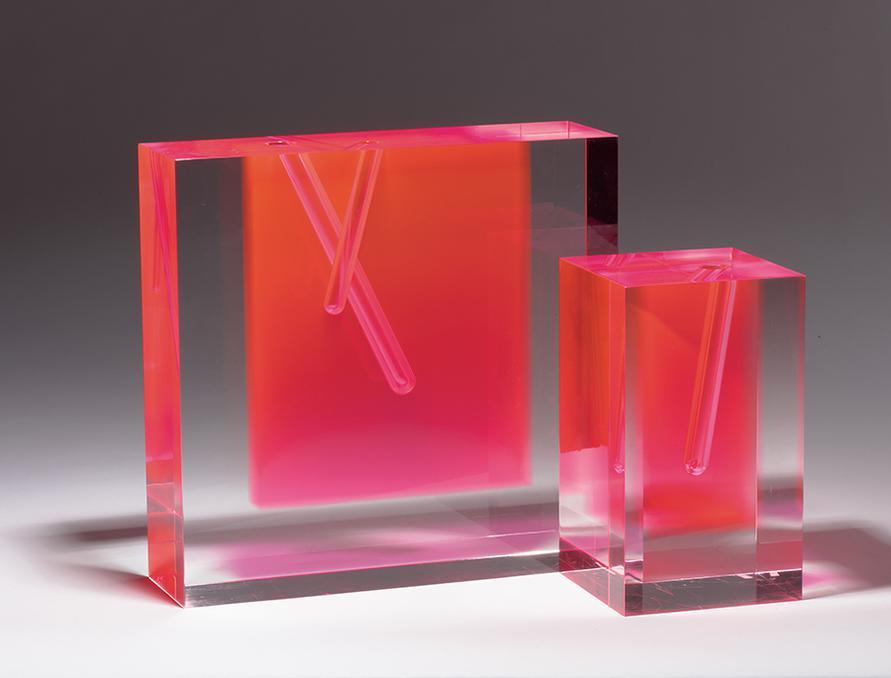 Shiro Kuramata - Flower Vase #2; Flower Vase #3 (2)-d1989