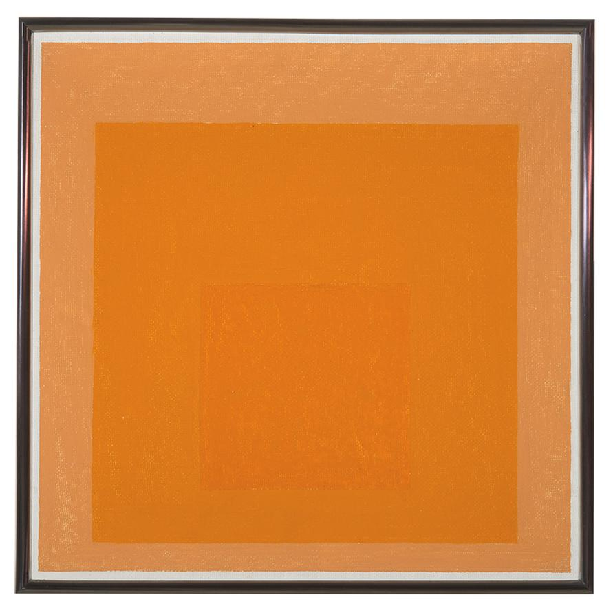 Josef Albers-Study For Homage To The Square: Unhurried-1965