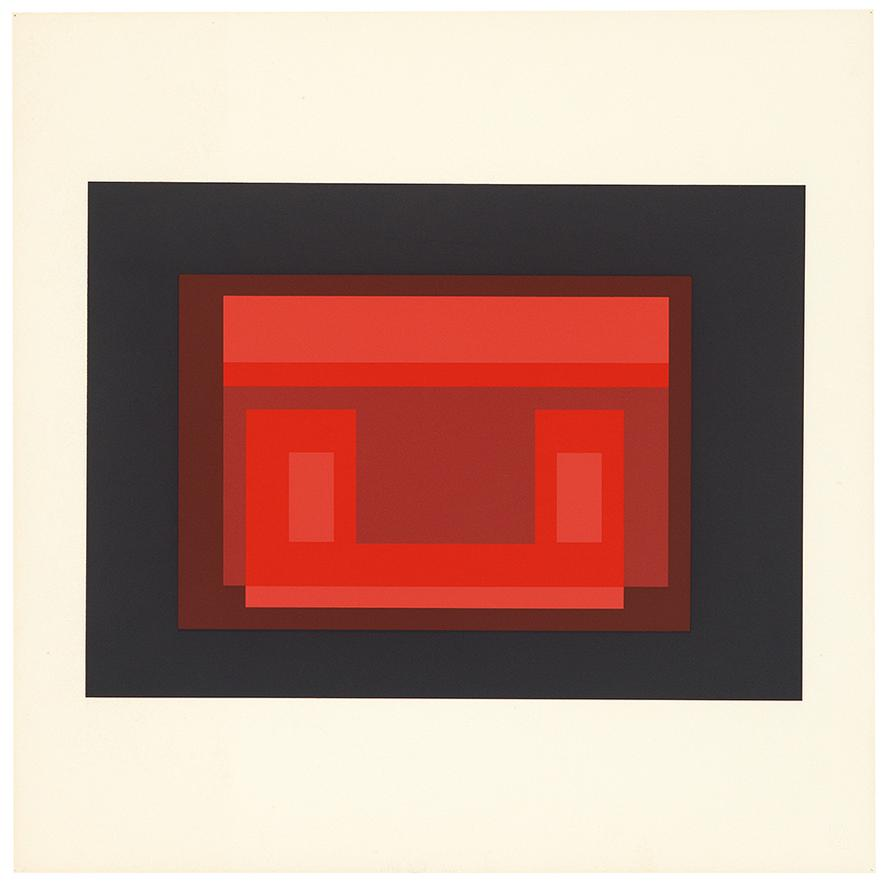 Josef Albers-Ten Variants-1967