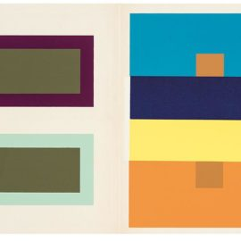 Josef Albers-Interaction Of Color-1963
