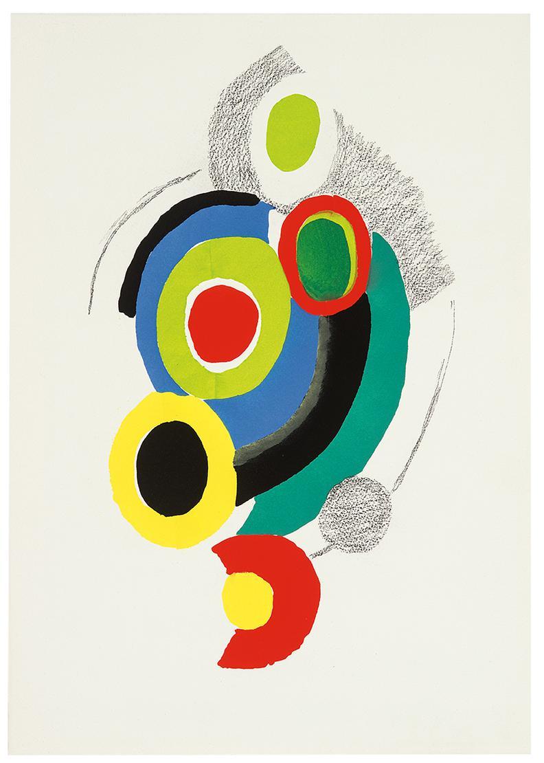 Sonia Delaunay-Les Illuminations-1973