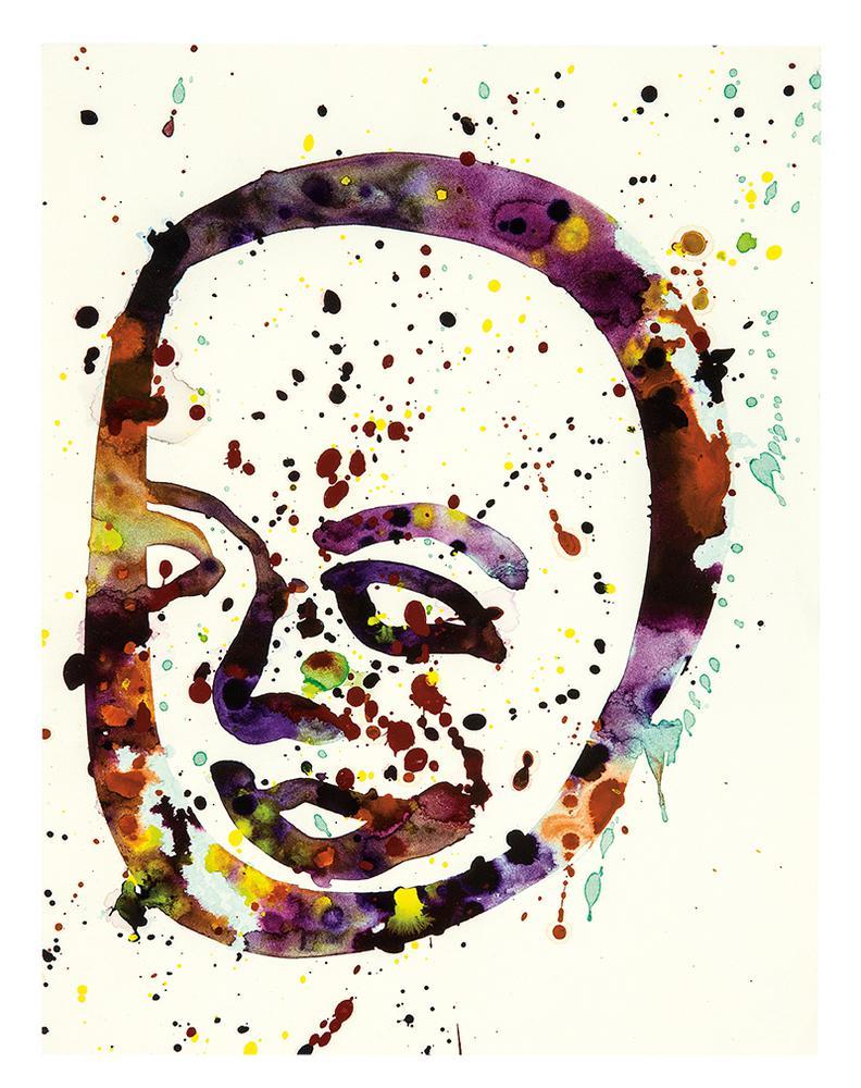 Sam Francis-Self-Portrait (Sf74-142)-1974