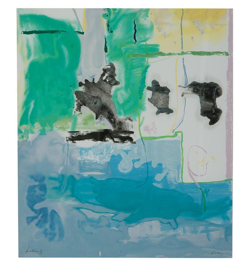Helen Frankenthaler-West Wind-1997