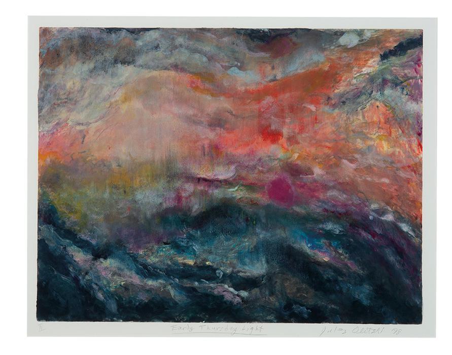 Jules Olitski-Early Thursday Light IV-1998
