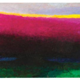 Wolf Kahn-Last Glow-1990