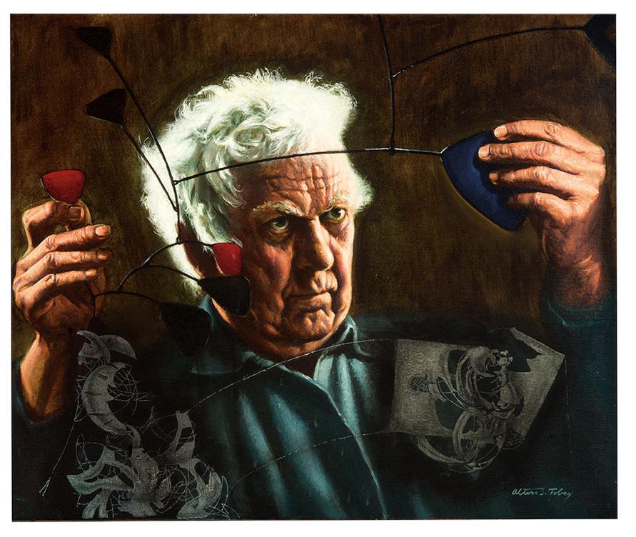 Alton S. Tobey - Homage To Calder-