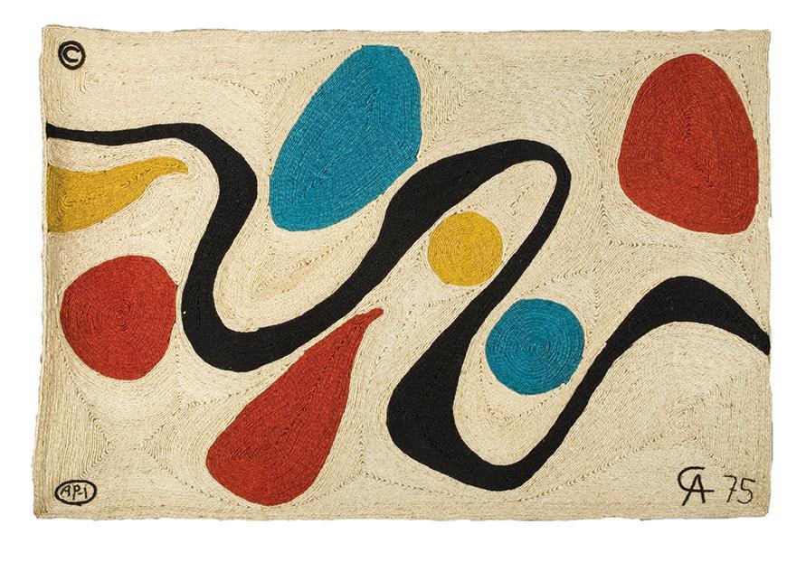 Alexander Calder-After Alexander Calder - Turquoise-1975