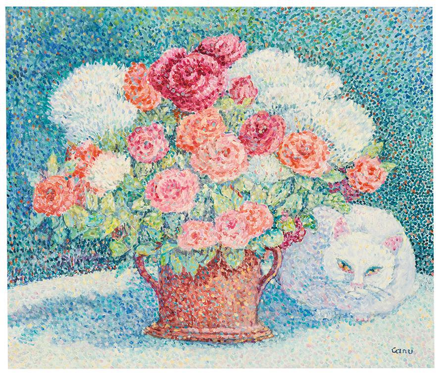Yvonne Canu-Fleur Sous Les Fleurs-