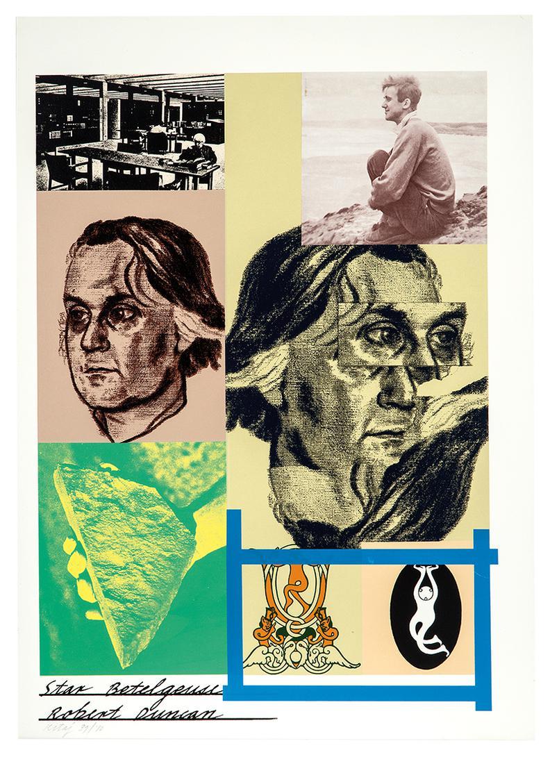 R.B. Kitaj - Group Of Prints (4)-1967