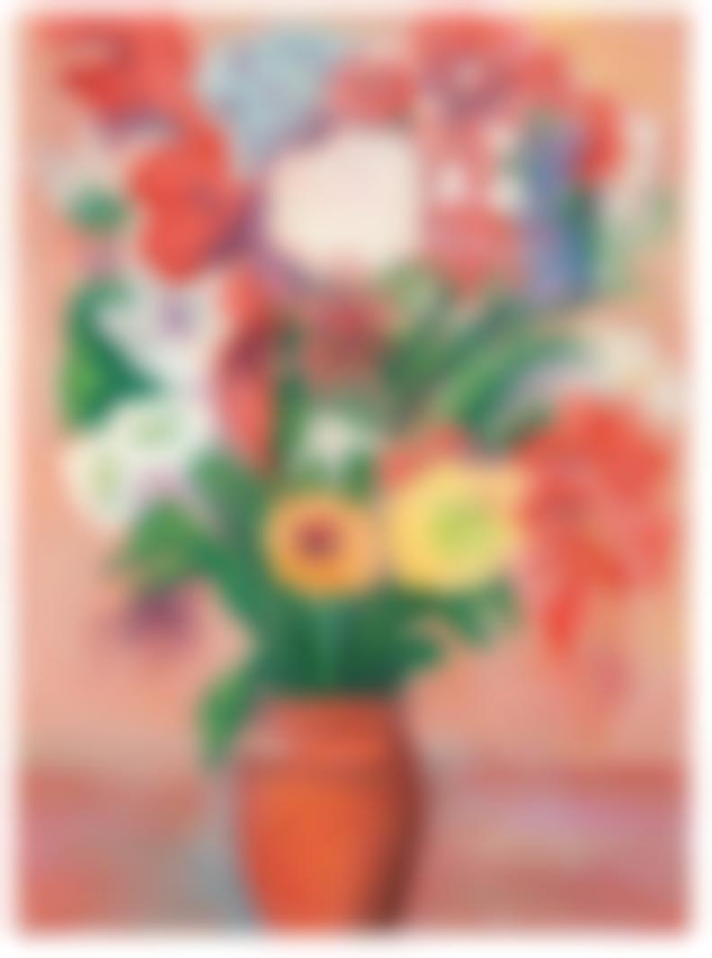 Martiros Sarian - Untitled (Vase With Flowers)-1949