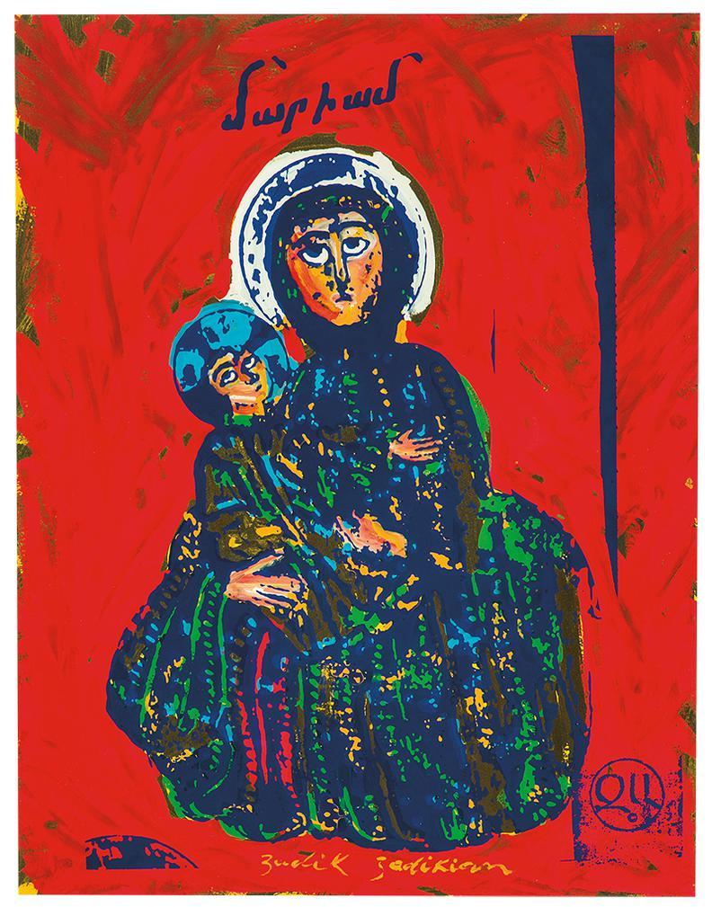 Zadik Zadikian - Untitled-1966