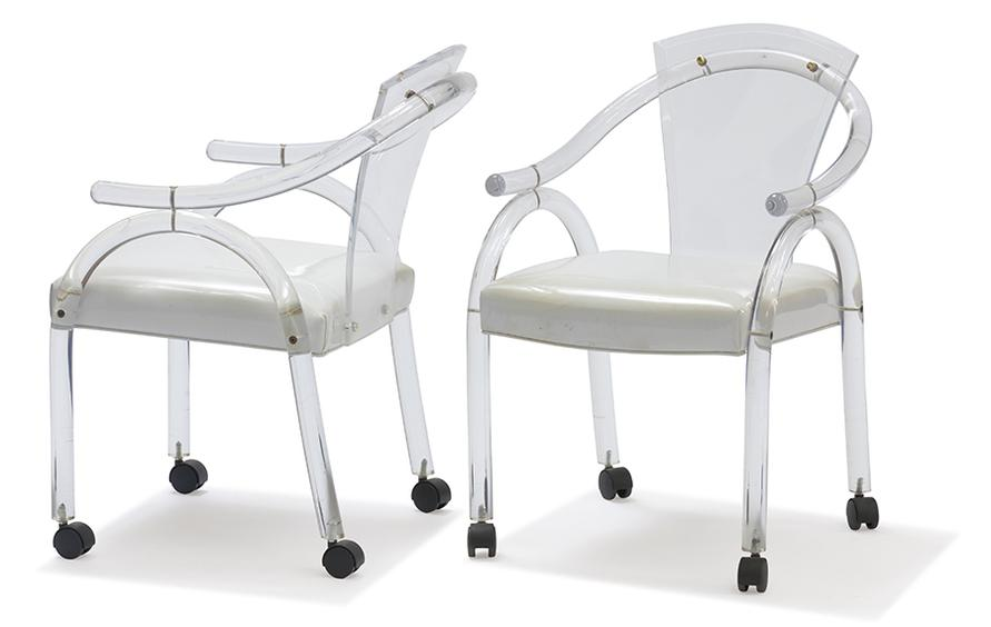 Modern - Lucite Chairs (2)-1975