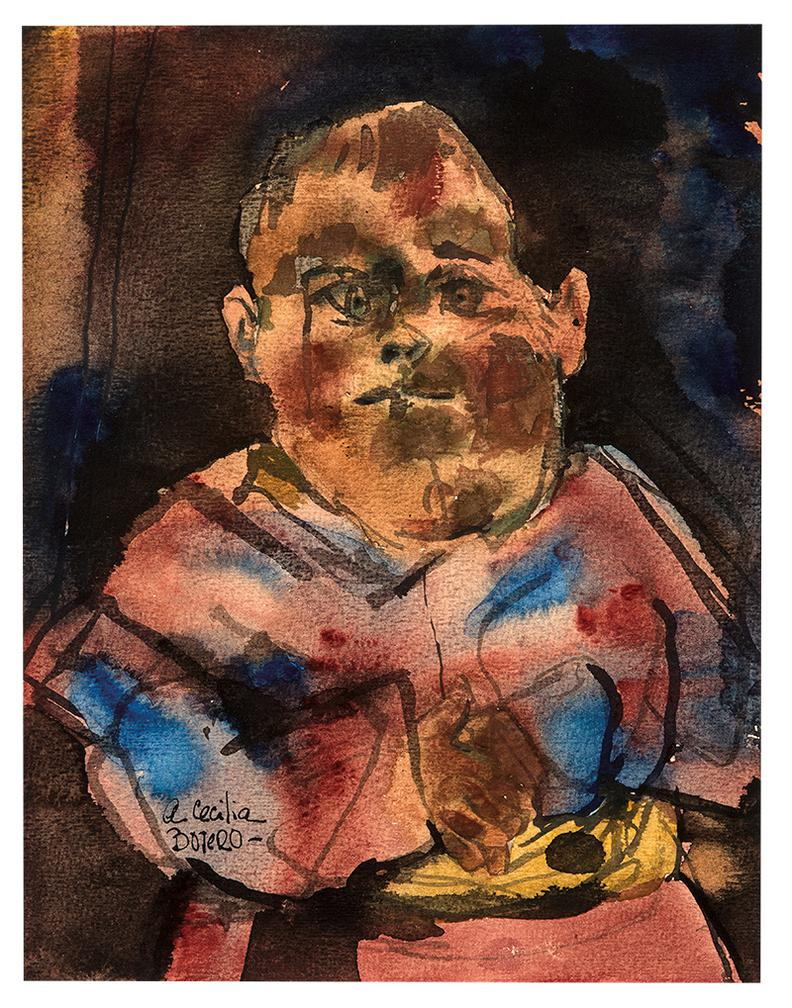 Fernando Botero-Untitled-1960