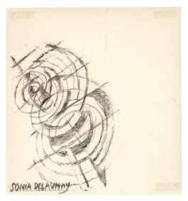 Sonia Delaunay Attributed - Untitled