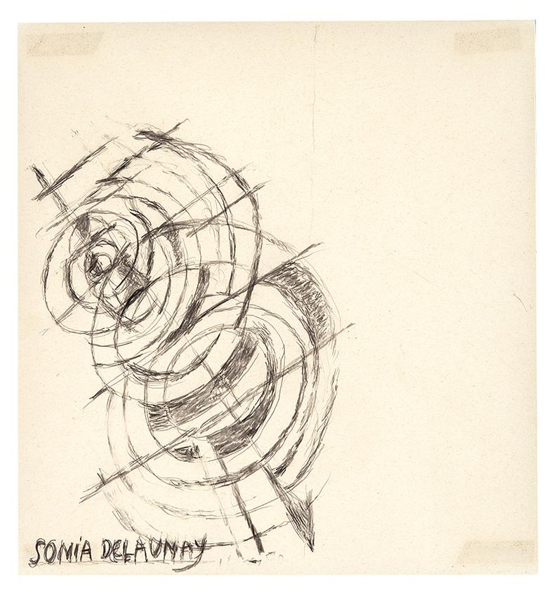 Sonia Delaunay Attributed - Untitled-