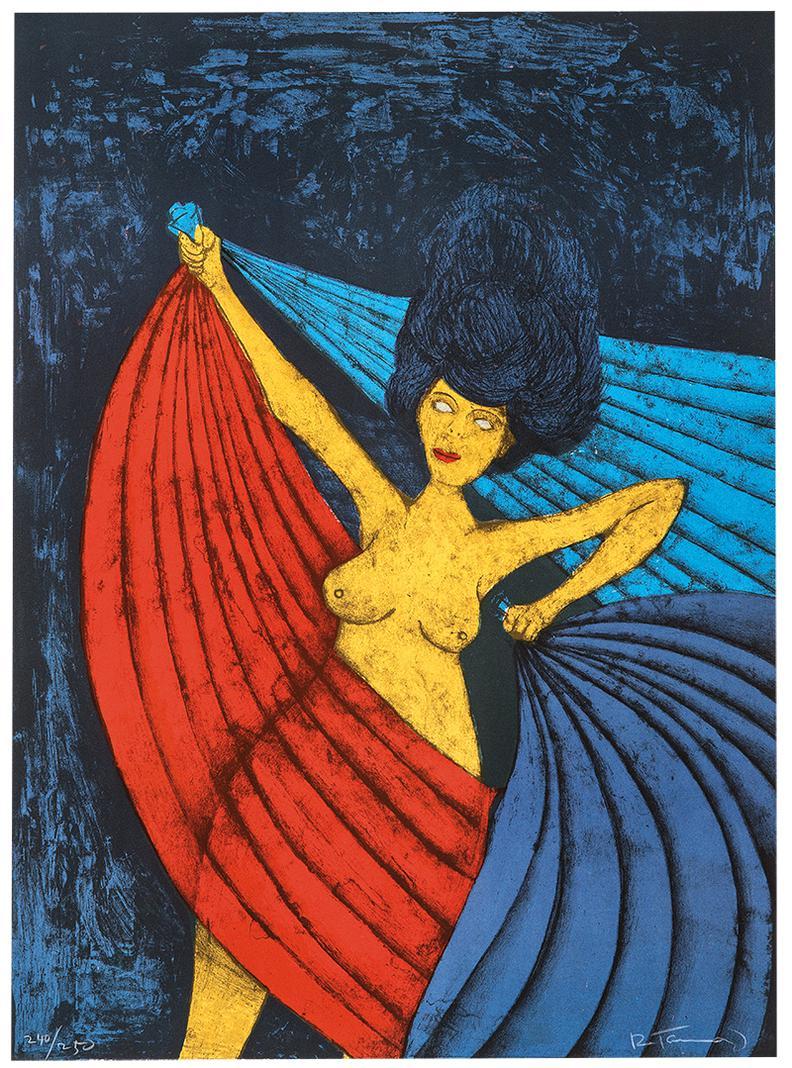 Rufino Tamayo-Salome-1984