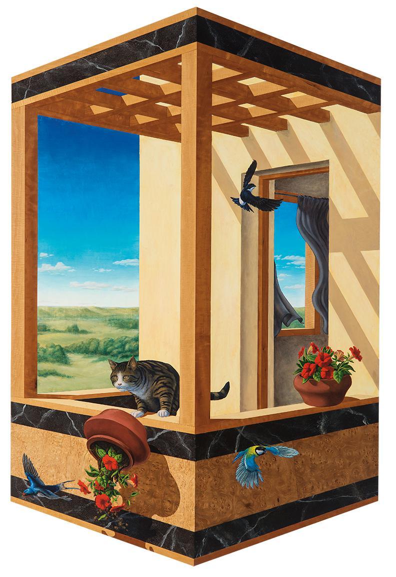 Ken Moylan - Balcony-1990