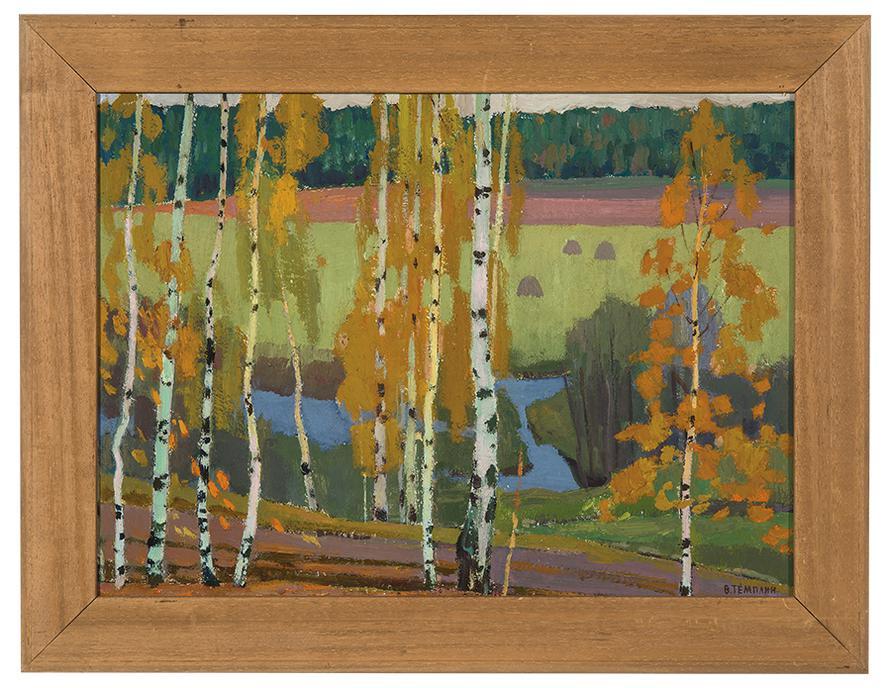 Viktor Templin - Through The Woods-1964