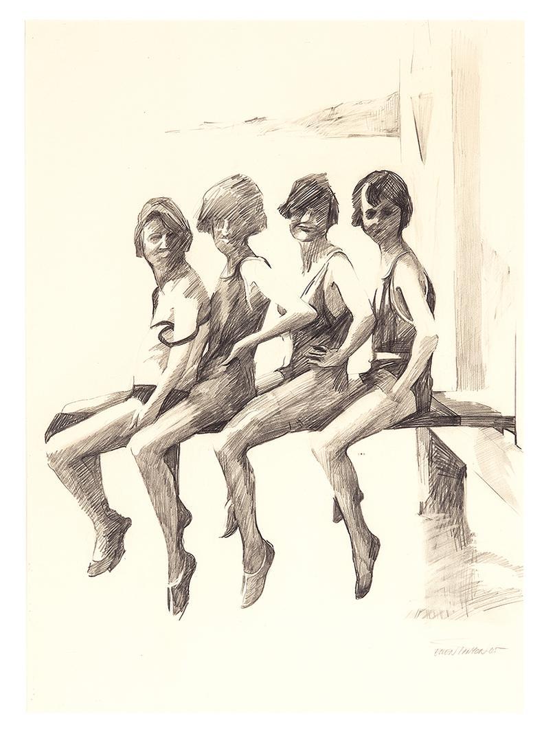Ellen Lanyon - Untitled-1965