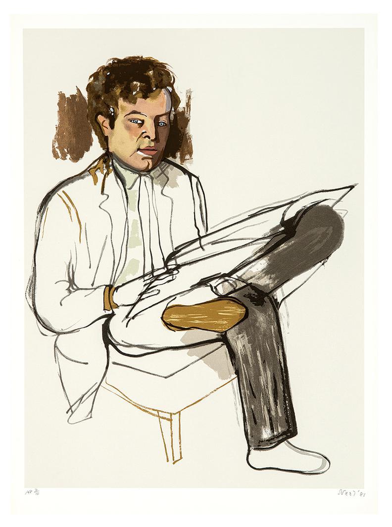 Alice Neel-Edward Avedisian-1981
