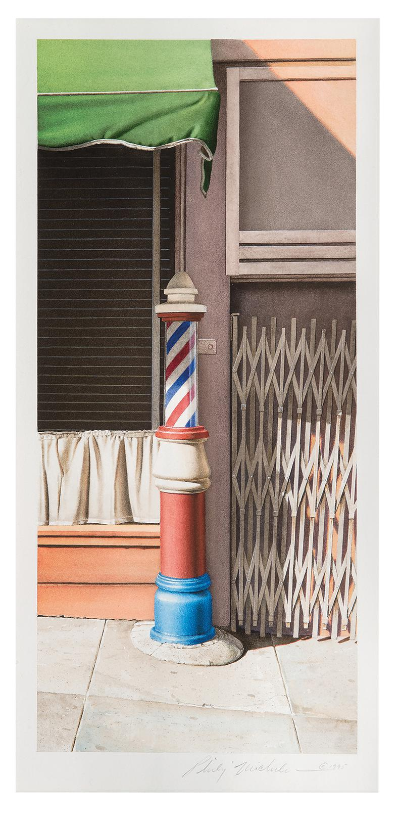 Philip Michelson - Untitled (Barber Pole)-1995