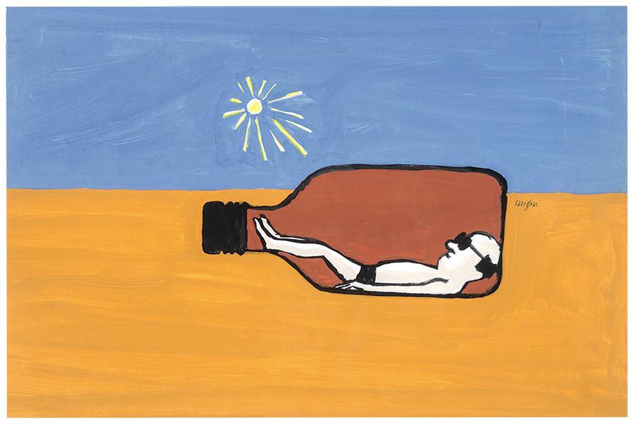 Raymond Savignac - Untitled (The Tan)-