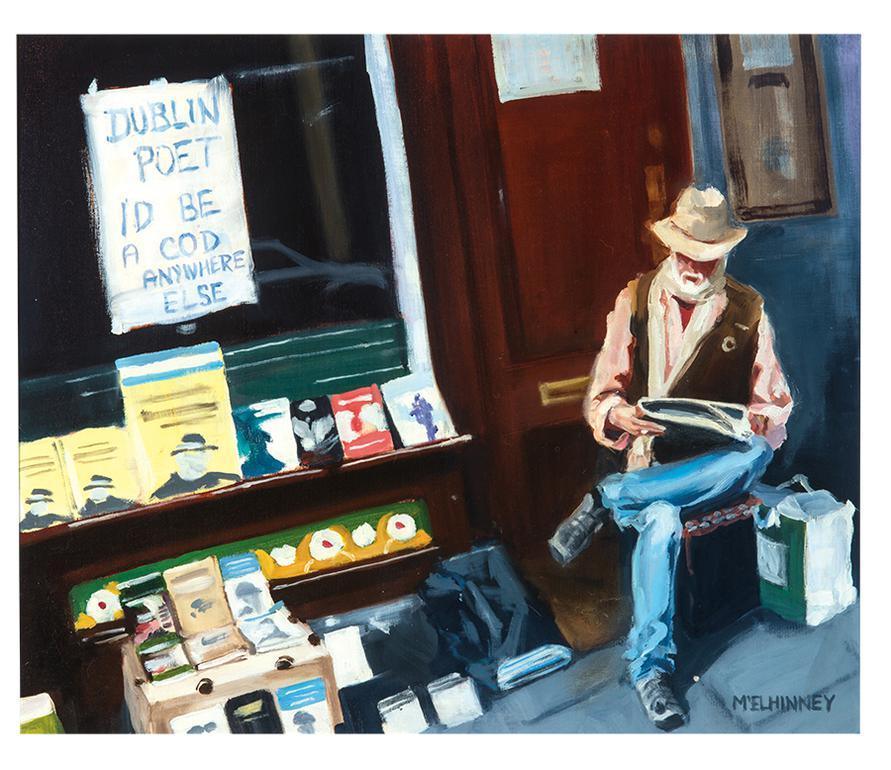 David Mcelhinney - Dublin Poet-2011