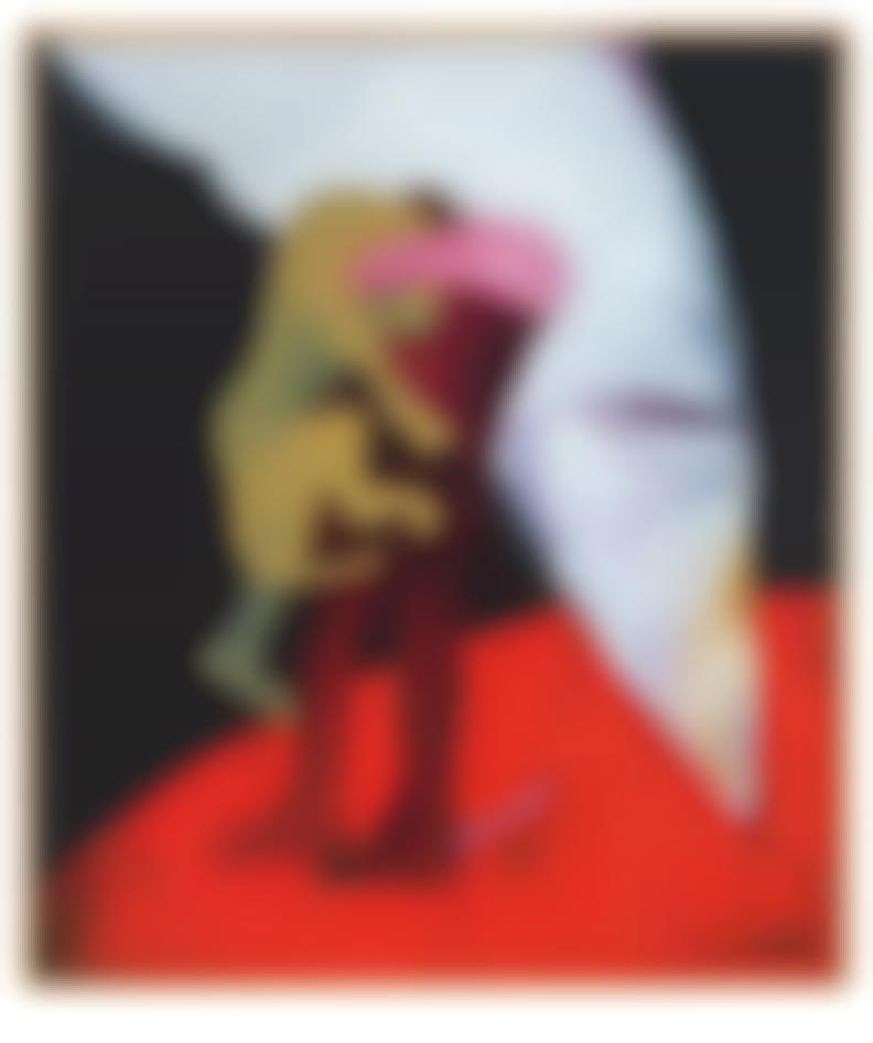 Fritz Scholder - Carnival #7-1988