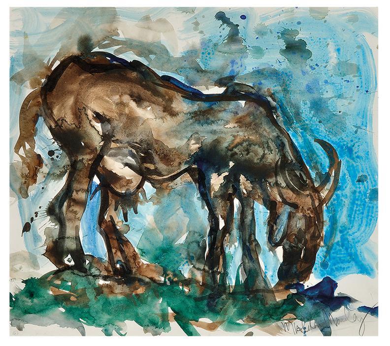 Malcolm Morley-Goat-