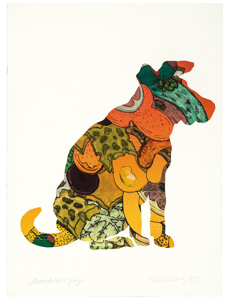 David Gilhooly-Arcimboldis Dog-1987