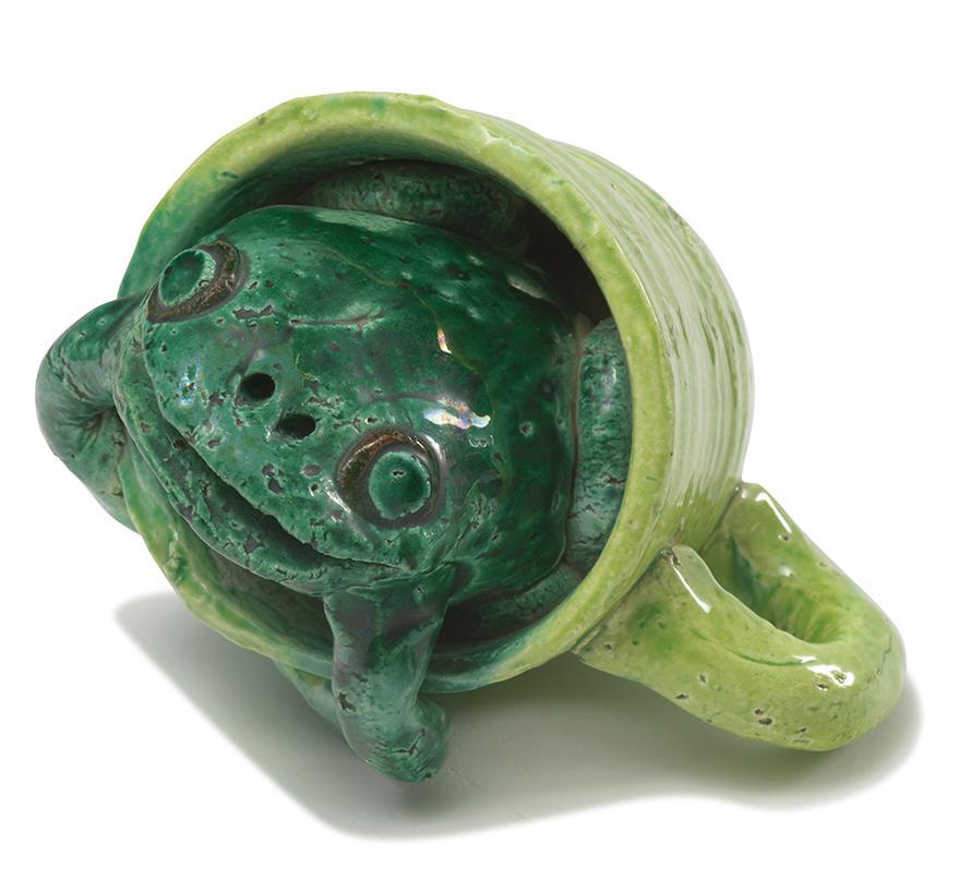 David Gilhooly-Frog In A Mug-1975