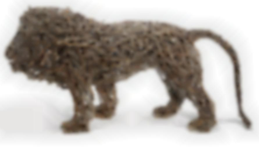 John Mcqueen - Haystack Lion (Curly Tail)-1999