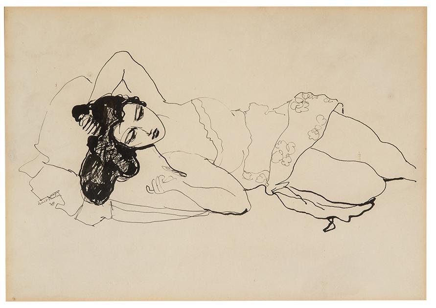 Walt Kuhn-Reclining Woman-1928