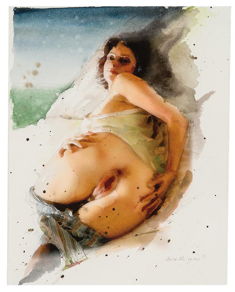 Martin Eder-Untitled (736Megirl03/06)-2006