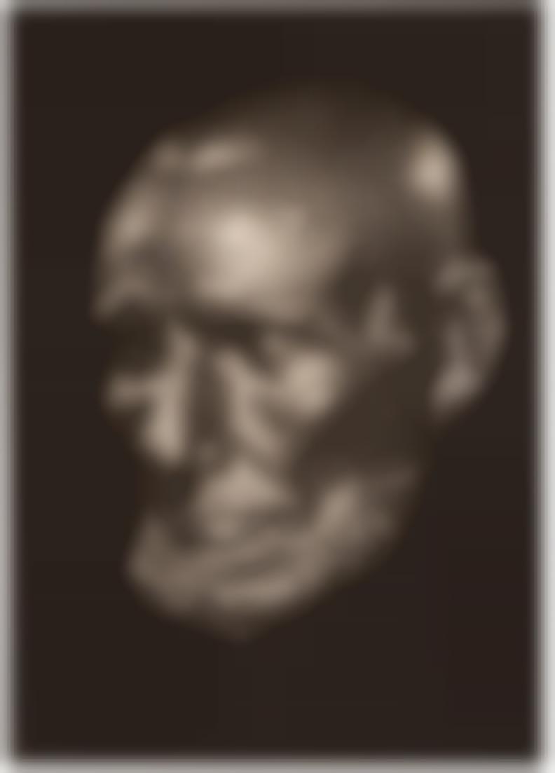 Yousuf Karsh-Lincolns Death Mask-