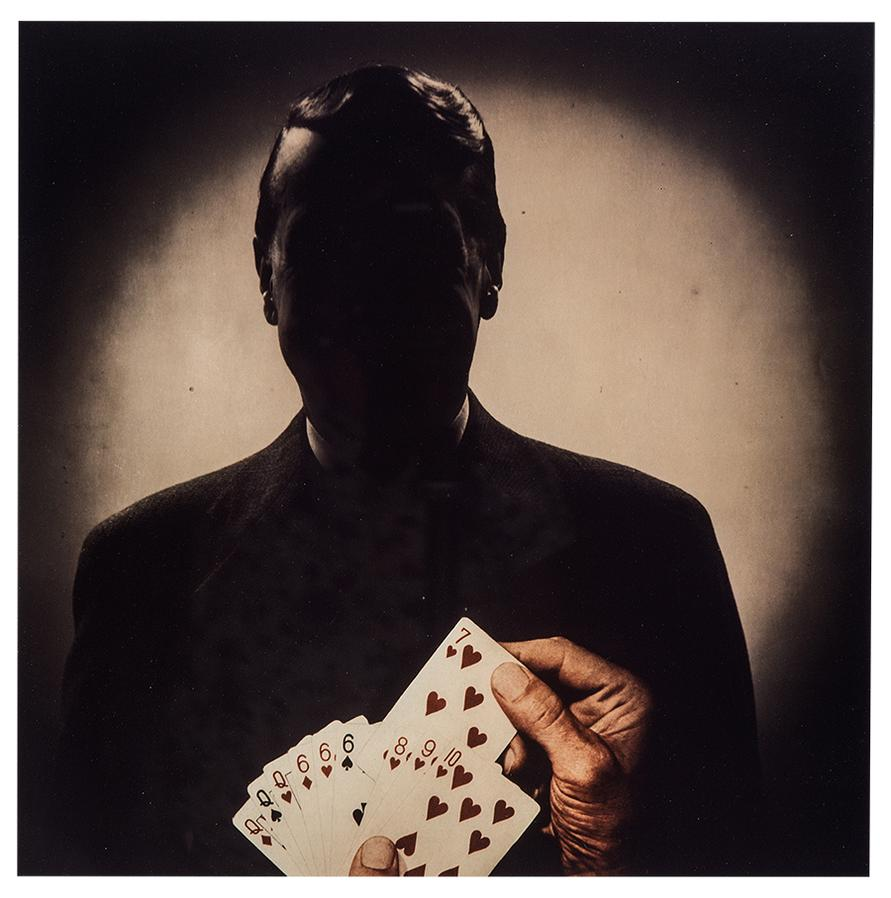 Stephen Frailey - Untitled (Man With Playing Cards)-1988