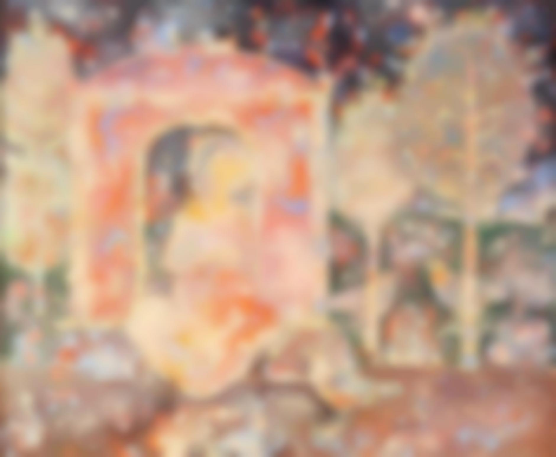 Sakti Burman-Untitled (Le Songe)-1990
