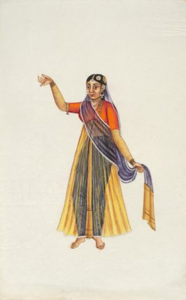 Company Painting - Woman Dancer-1850