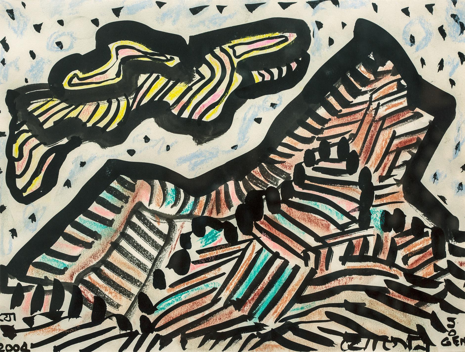 Jogen Chowdhury-Untitled-2004