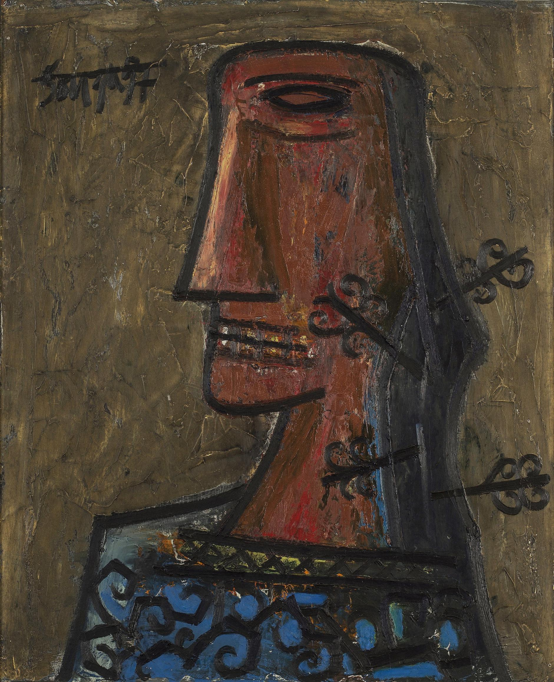 Francis Newton Souza-Profile-1957