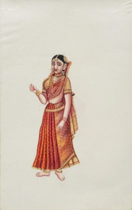 Company Painting - Courtesan-1850
