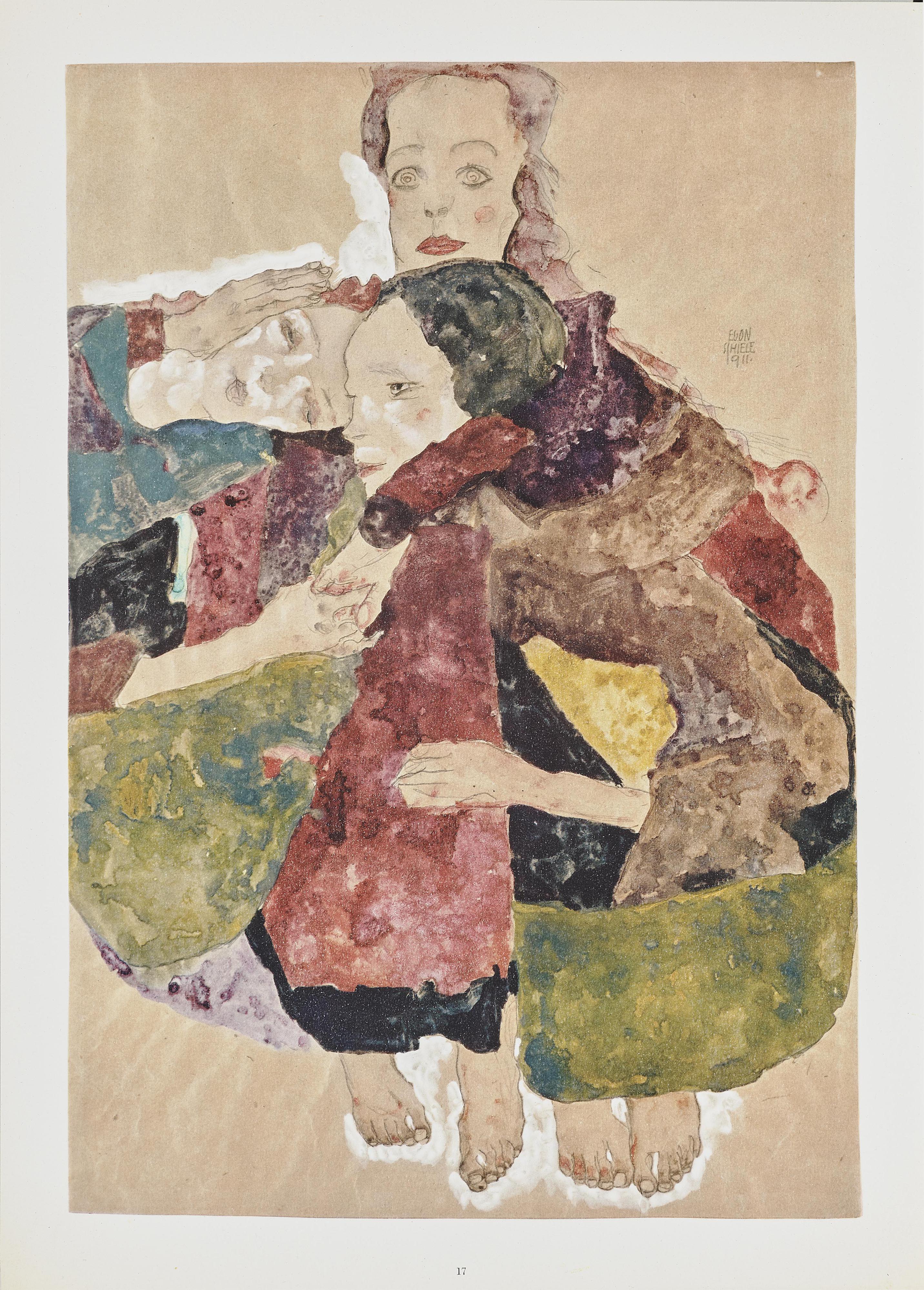 Egon Schiele-Aquarelle Und Zeichnungen-
