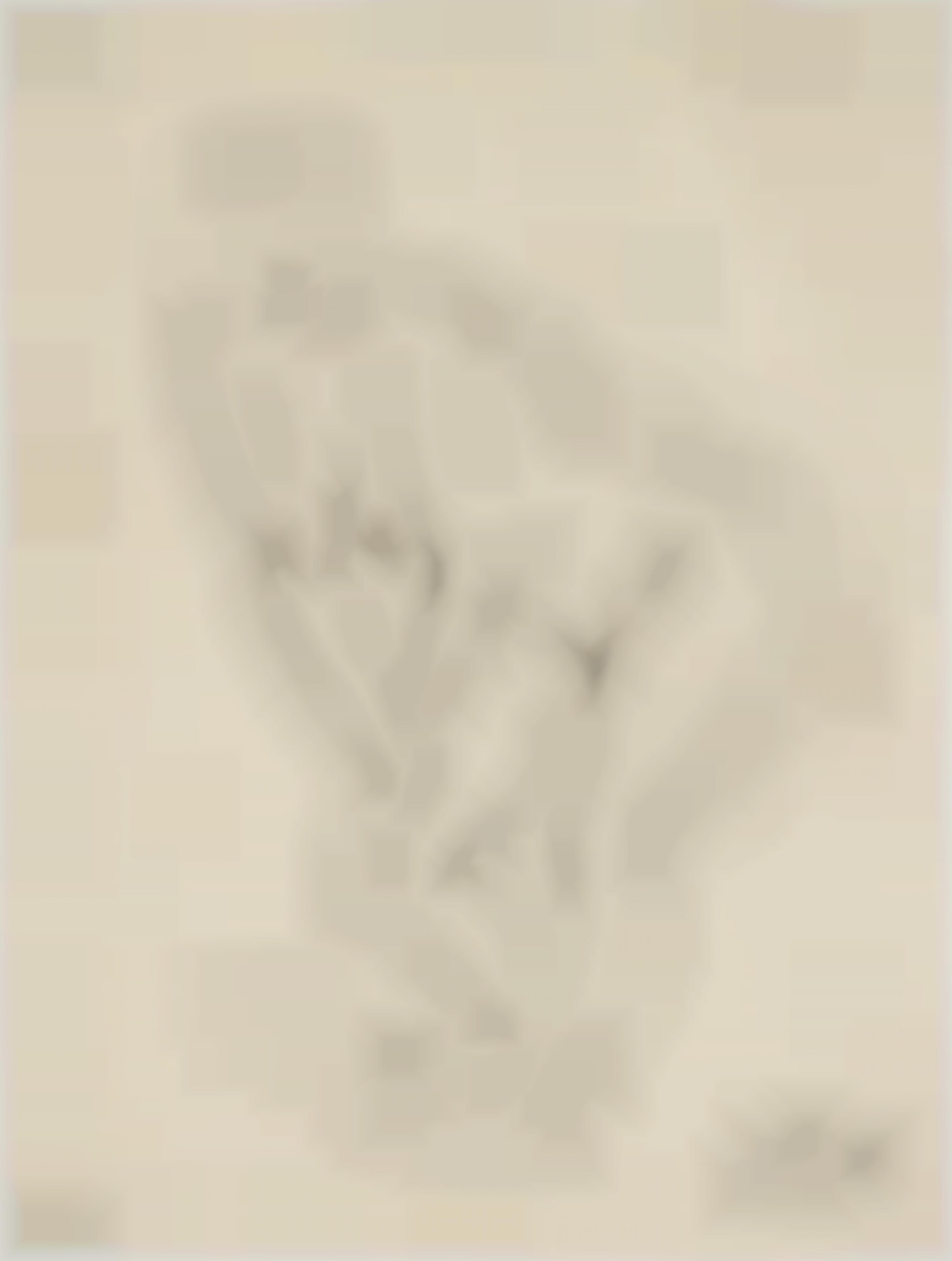 Otto Dix-Irmgard, Gebeugt (Irmgard bent)-1931