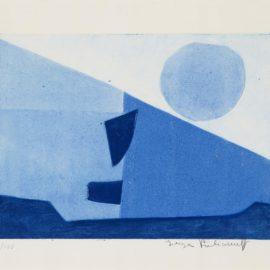 Serge Poliakoff-Composition Bleue-1958