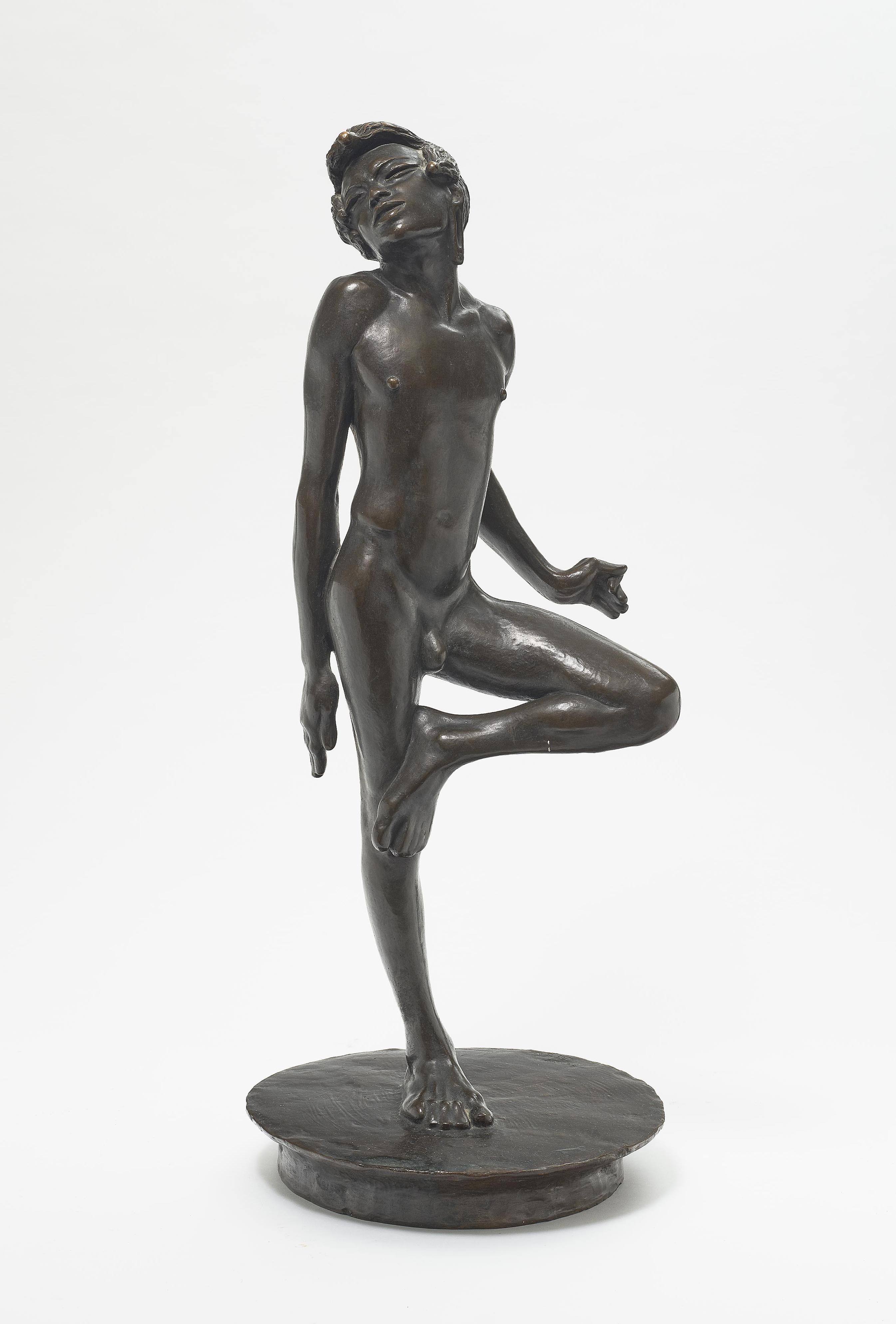 Fritz Behn - Tanzender Massaivor (Dancing Massai)-1919