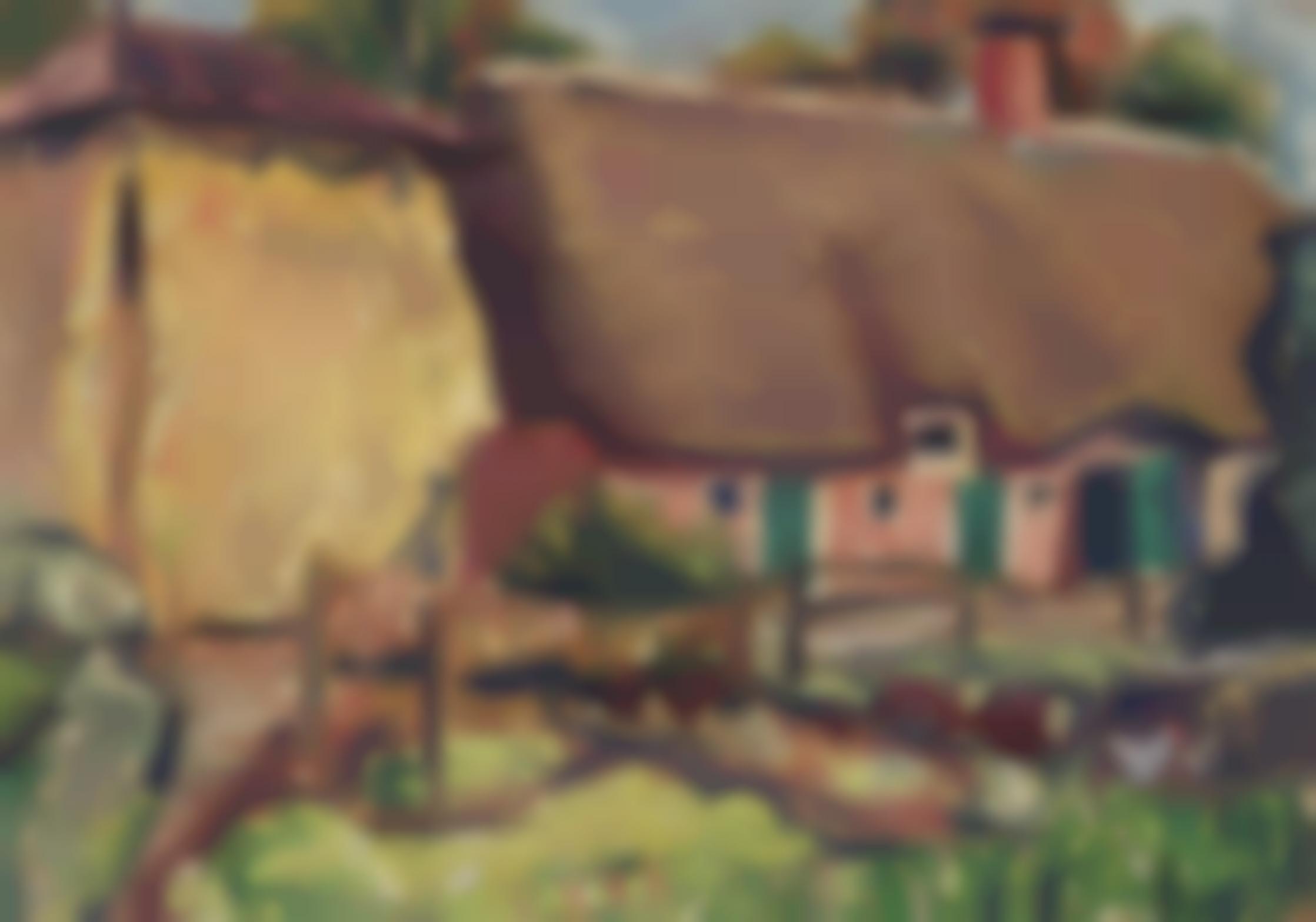 Arnold Balwe - Hollandischer Bauernhof-