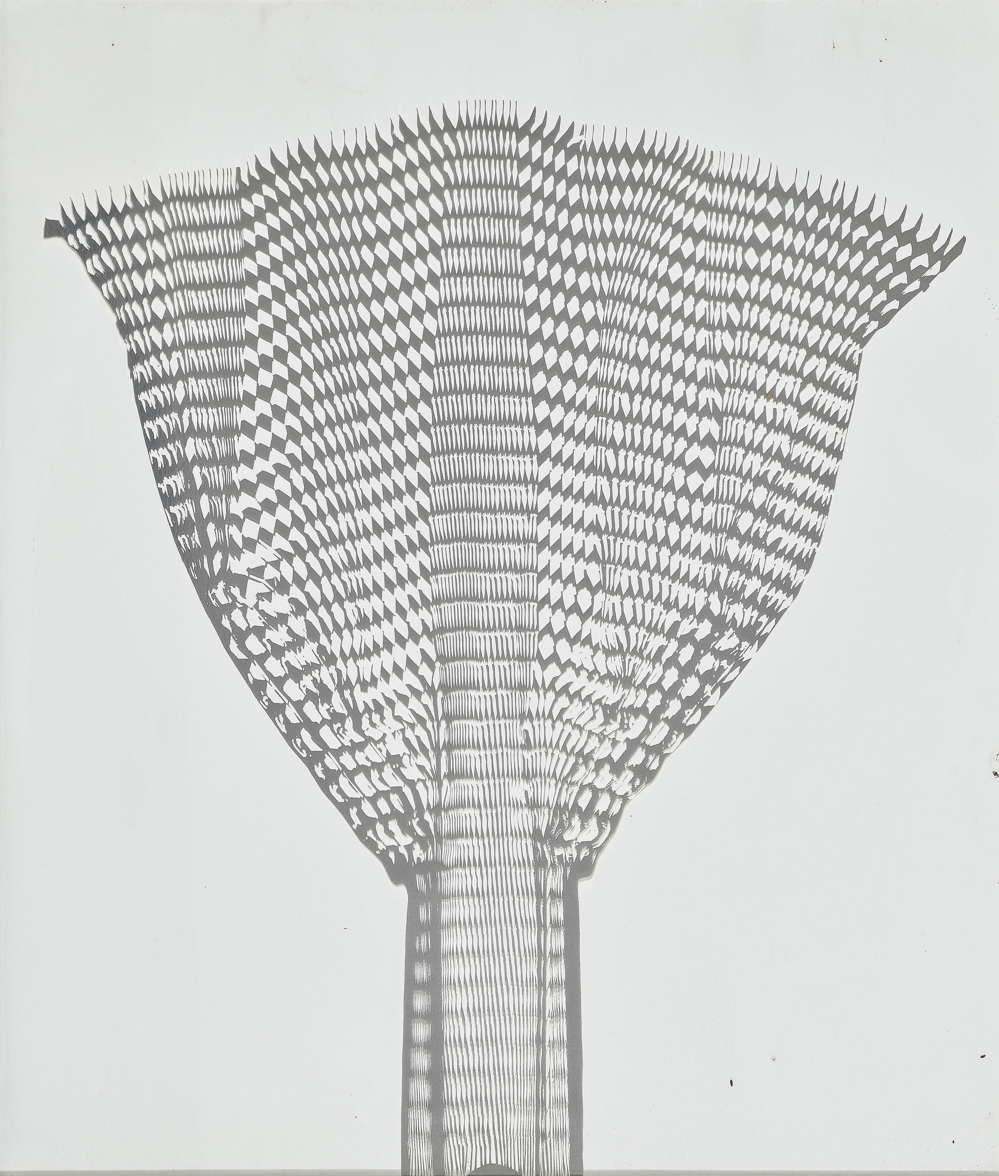 Heinz Mack-Silberfacher (Silver Fan)-1972