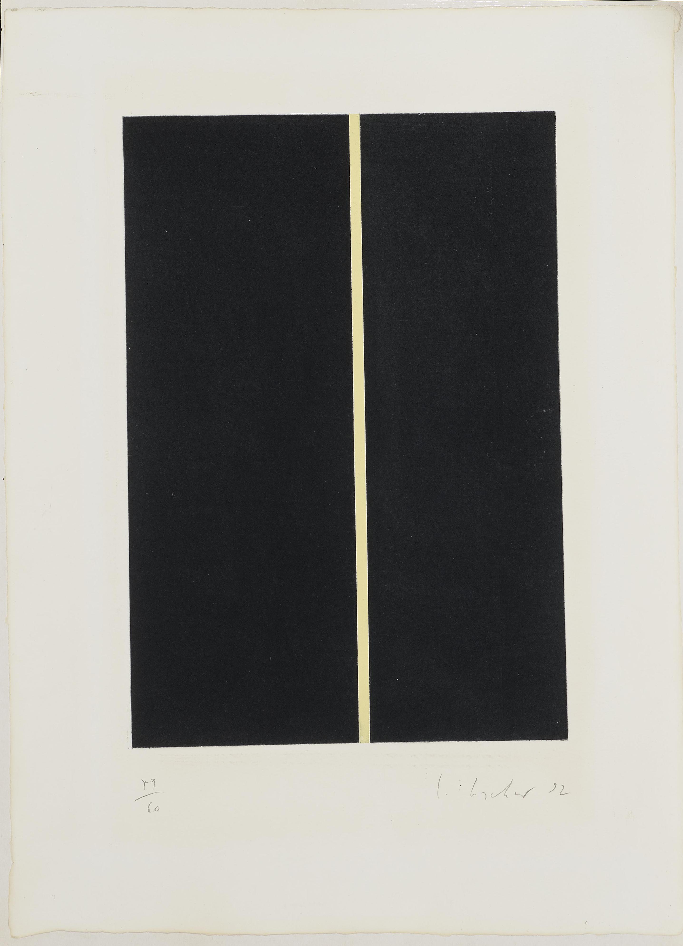 Ingeborg Luscher - Ohne Titel (Untitled)-1992