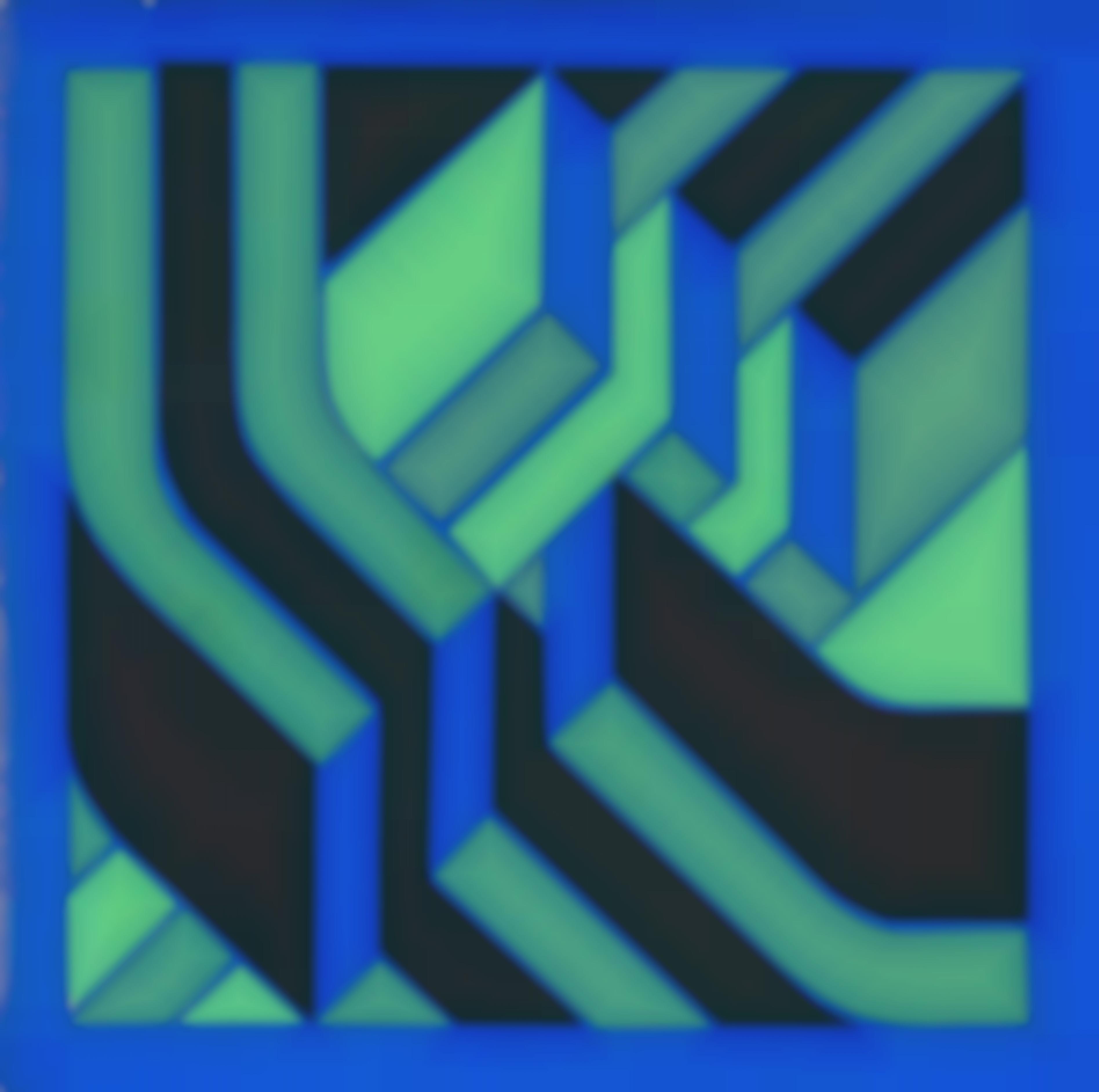 Jurgen Reipka - Ambivalenter Raum (Ambivalent Space)-1970