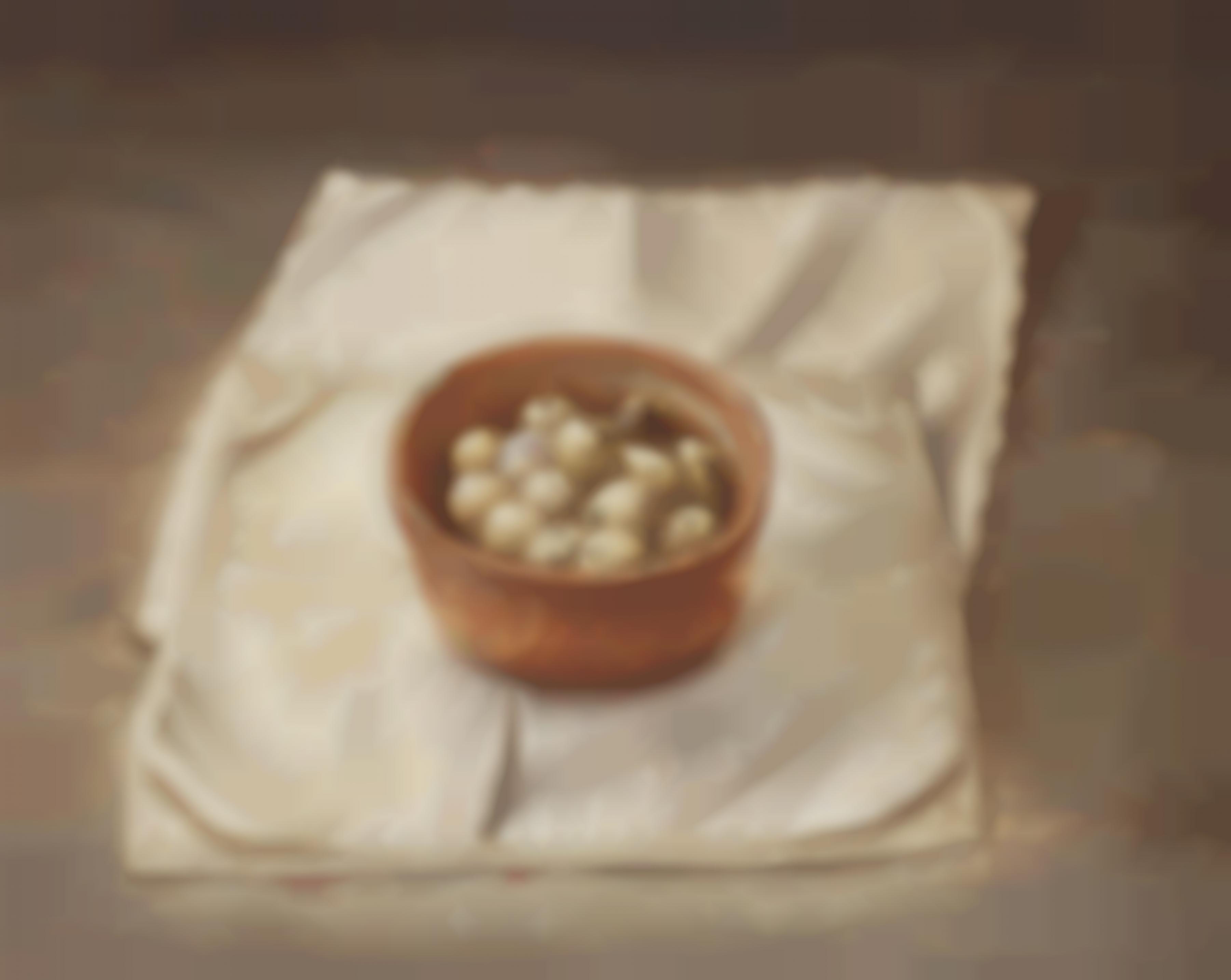 Anneke Van Brussel - Stillleben Mit Wachteleiern (Still Life with Quail Eggs)-1992